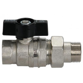 ASTER BALL VALVE 3/4 M/F PIPE UNION