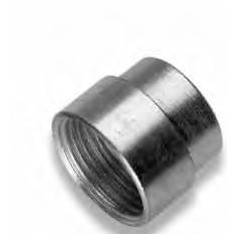 ZINC-COATED STEEL SOCKET RID.1/4X1/2 MF