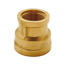 BRASS SOCKET REDUCED 1X3/4