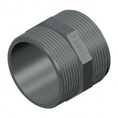 PVC NIPPEL 1.1/2