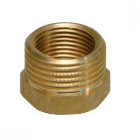 BRASS REDUCING COUPLINGS 1/2X3/8