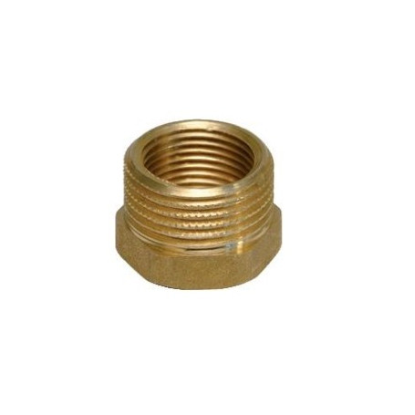BRASS REDUCING COUPLINGS 1X1/2