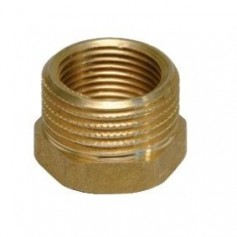 BRASS REDUCING COUPLINGS 3/8X1/4