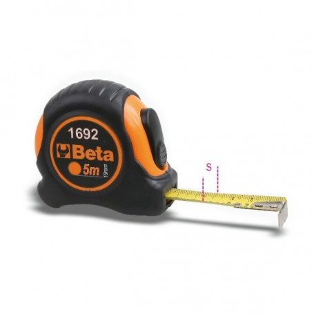 FLESSOMETRTO ABS BI-MATERIALE 5MT - 1692