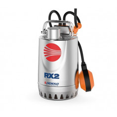 ELETTROPOMPA PEDROLLO RXm5 1.5HP V.230 - POMPA SOMMERGIBILE DA DRENAGGIO | cavo da 10mt