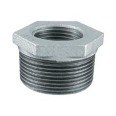 CAST-IRON REDUCING COUPLINGS 1X3/4