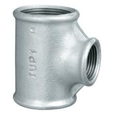 CAST-IRON REDUCING TEE 2X11/4X2