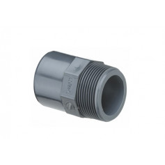 PVC NIPPLE SOCKET 16X12X3/8