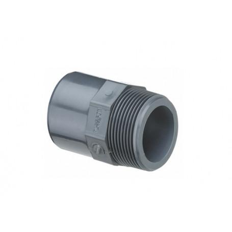 PVC NIPPEL MUFFE 25X20X3/4