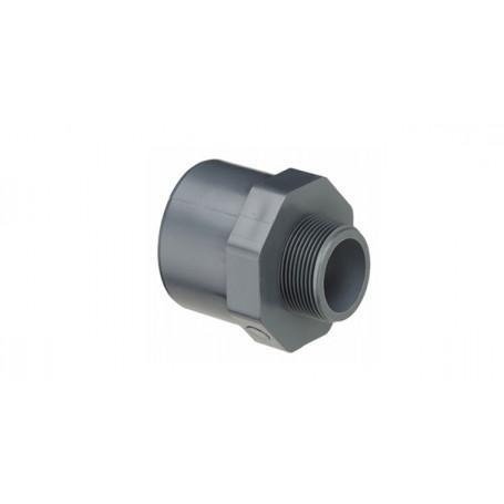 PVC NIPPEL MUFFE 63X50X1.1/4