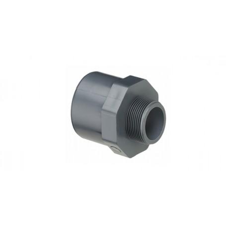 PVC NIPPEL MUFFE 32X25X1/2