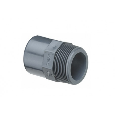 PVC NIPPLE SOCKET 20X16X1/2