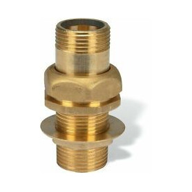 BRASS DRAIN FOR TANK WITH INTERNAL THREAD 11/4''