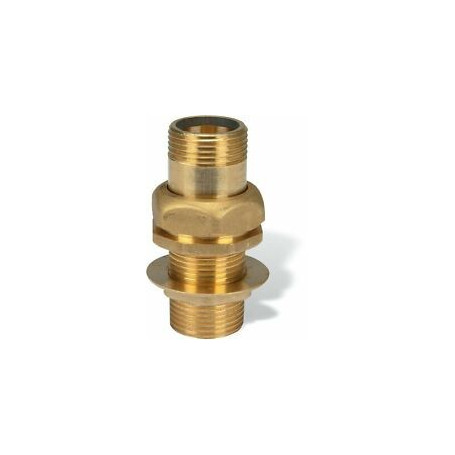 BRASS DRAIN FOR TANK WITH INTERNAL THREAD 1''