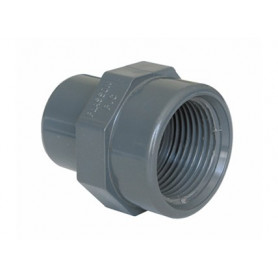 PVC ADAPTOR M/F 110X4