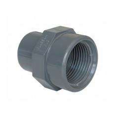 PVC ADAPTOR M/F 40X1.1/4