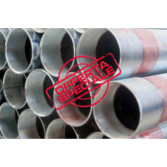 GALVANIZED PIPE SEAMLESS 11/4 SCREW-SLEEV