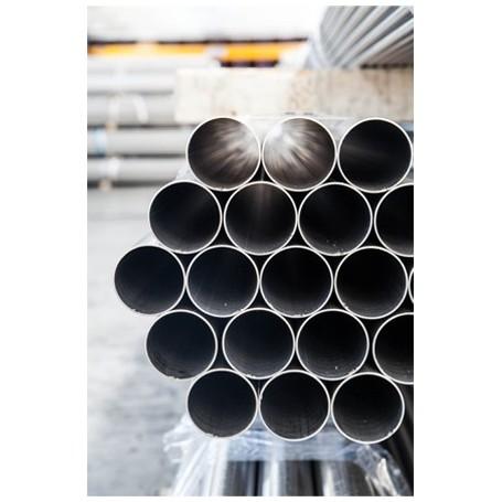 TUBO INOX AISI 304 DN125 / DE139 SP.3 MM SALDATO