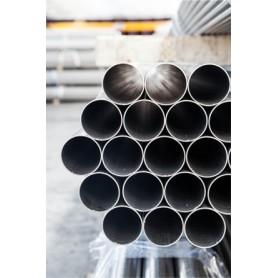 TUBO INOX AISI 304 DN250 / DE273 SP.3 MM SALDATO