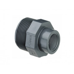 PVC REDUCING COUPLINGS M/F 1.1/2X3/4