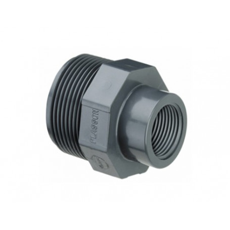 PVC REDUCING COUPLINGS M/F 1X3/4
