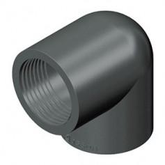 PVC ELLENBOGEN 90' 1