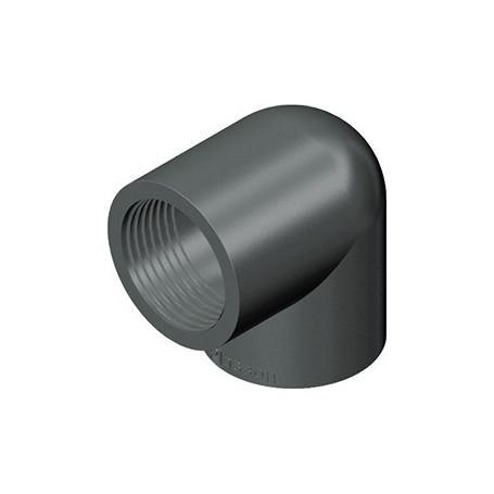 GOMITO PVC A 90' 16X3/8