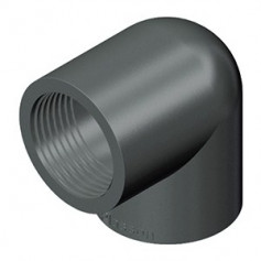 GOMITO PVC A 90' 110X4