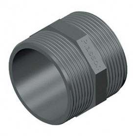 NIPPLE EN PVC 2.1/2