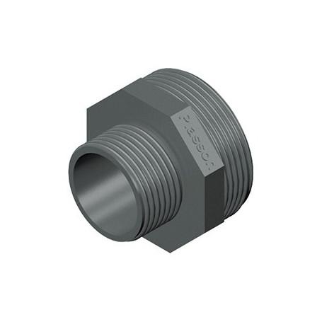 NIPLES PVC RIDOTTO 1X1/2