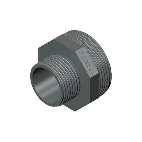 NIPLES PVC RIDOTTO 1X3/4