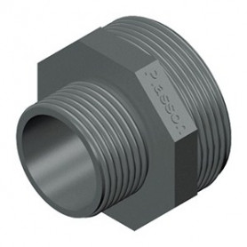 PVC NIPPEL REDUZIERT 1.1/2X1