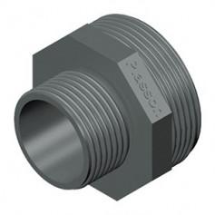 NIPPLE EN PVC RÉDUIT 1.1/2X1.1/4