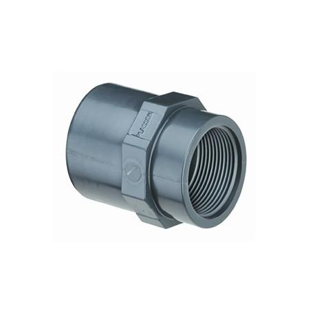 PVC ADAPTOR PASS. 75X63X2