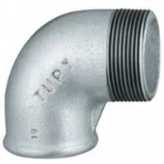 CAST-IRON ELBOW 45° 3/8 M/F