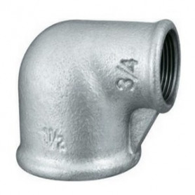 CAST-IRON REDUCING ELBOW 11/4X3/4