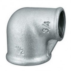CAST-IRON REDUCING ELBOW 1X3/4