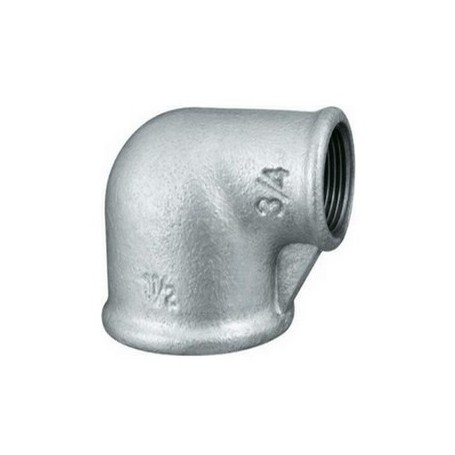 CAST-IRON REDUCING ELBOW 3/4X1/2
