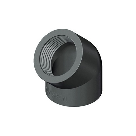 COUDE EN PVC A 45' 1.1/2