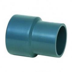 PVC REDUKTION MIT STECKMUFFE 160X140X75