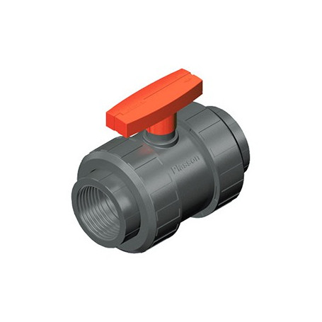 BI-STOP VALVE PVC FPM THREADED 1/2