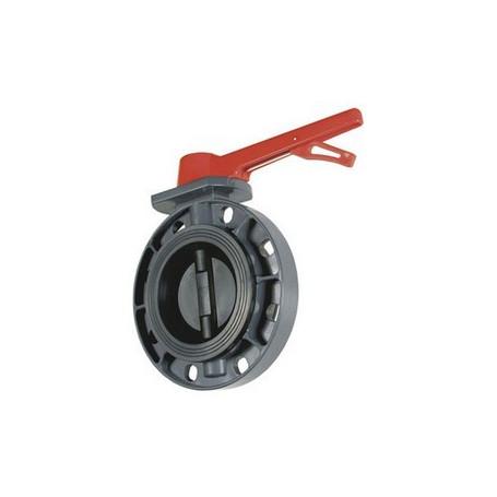 BUTTERFLY VALVE PVC EPDM 125-140