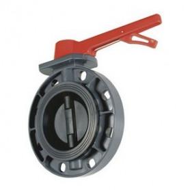 BUTTERFLY VALVE PVC EPDM 160