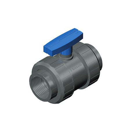 TWO NUT VALVE PVC 1.1/2 - TEKNICA