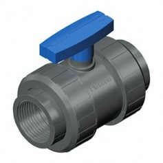 TWO NUT VALVE PVC 1.1/4 - TEKNICA