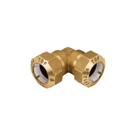 BRASS ELBOW 20X20