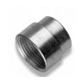GALVANIZED REDUCTION SOCKET 1/4X3/8 MF