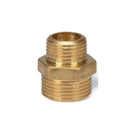 BRASS REDUCING NIPPLE 2X11/2