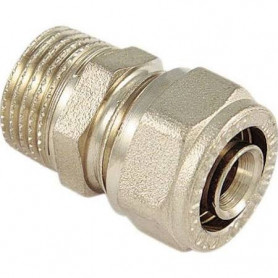 MULTILAYER CONNECTION MALE 3/4'' X 26