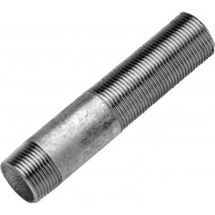 GALVANIZED SLIDING BARREL NIPPLE 1X140